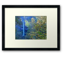 Nature Heals The Soul - Columbia River Gorge Framed Print