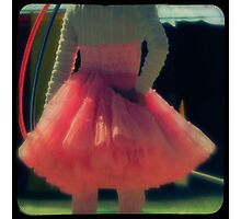 Ttv: Hula Hoops and Pink Ruffles Photographic Print
