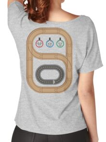 Thomas the Tank Engine Wooden Railways Women's Relaxed Fit T-Shirt