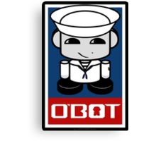 Sailor Hero'bot 1.1 Canvas Print