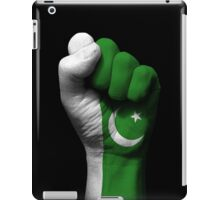 Flag of Pakistan on a Raised Clenched Fist  iPad Case/Skin