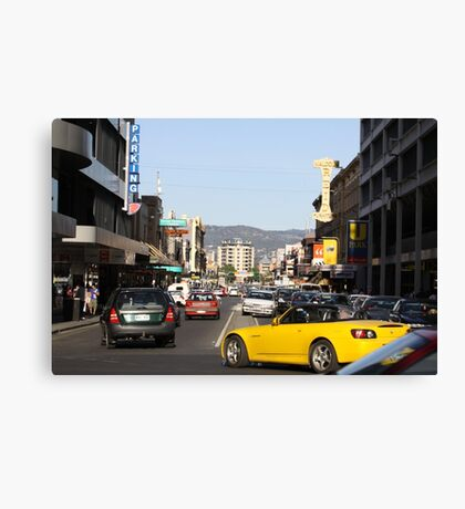 Rundle St. Adelaide's East End Canvas Print
