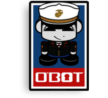 Marine Hero'bot 2.1 Canvas Print