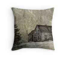 The Old Farmhouse Throw Pillow