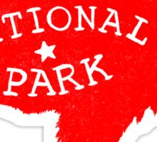 Yellowstone Park  Sticker