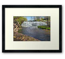 Indiana's Thistlewaite Falls Framed Print