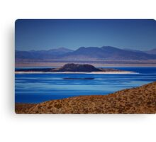 Mono Lake Blues Canvas Print