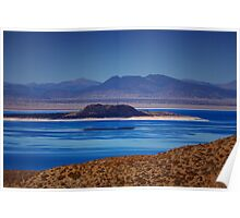 Mono Lake Blues Poster