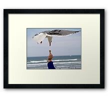 Look Whos Coming to Dinner Framed Print