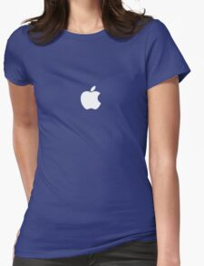 Apple Clothing Womens Fitted T-Shirt