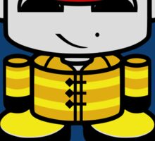 Firefighter Hero'bot 1.1 Sticker