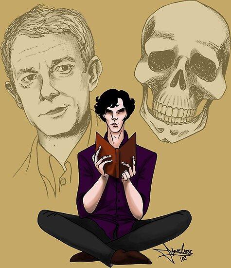 Sherlock & Friends by NadddynOpheliah