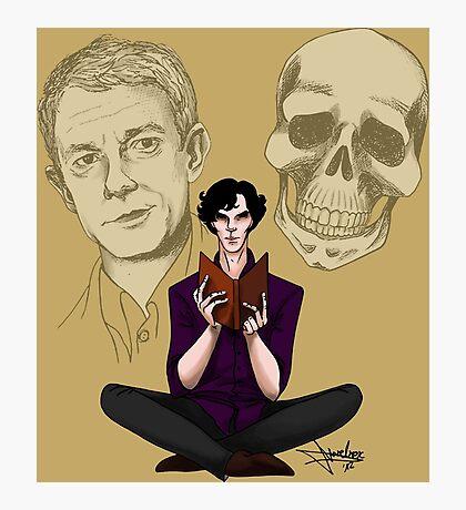 Sherlock & Friends Photographic Print