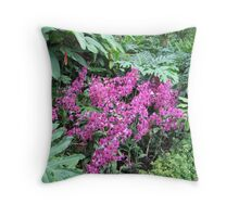 Orchids of Singapore Botanic Gardens Throw Pillow