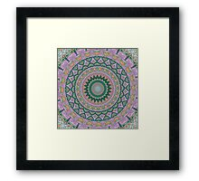 Tranquility Mandala Framed Print