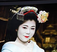 Portrait Of A Geisha by phil decocco