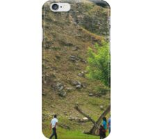 Shadow of a tree iPhone Case/Skin