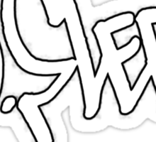 No Sleep - [OPM_tag_logo] Sticker