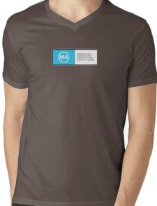 For mature audiences only... Mens V-Neck T-Shirt