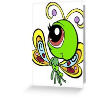 Littlest Pet Shop Butterfly Greeting Card