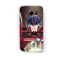 Optimus Prime w/ Earth and Cybertron Samsung Galaxy Case/Skin