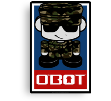 Army Hero'bot 1.1 Canvas Print