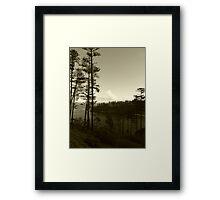 Ball Bay Framed Print