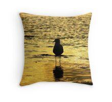 Dreamy Gull Throw Pillow
