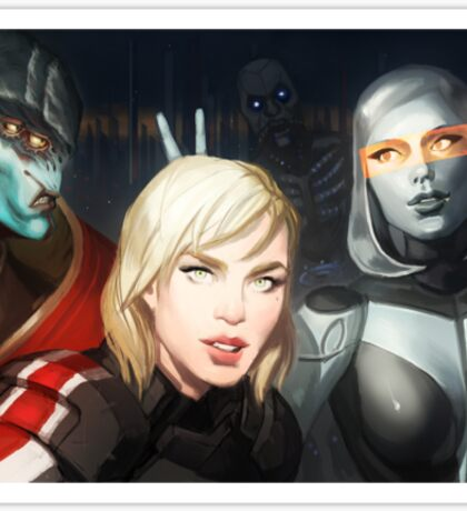 Squad Selfie Sticker
