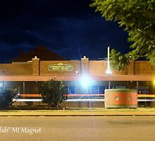 The Commercial Club - Mt Magnet  by BaerPhotography