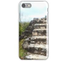 Ancient stone stairs iPhone Case/Skin