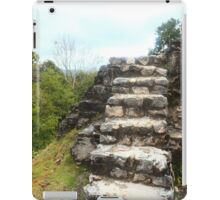 Ancient stone stairs iPad Case/Skin
