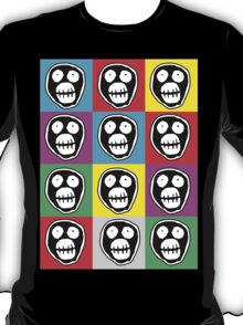 Mighty Boosh Face - Warhol Style T-Shirt