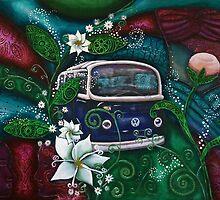 Indigo Dream by JaanemanArt