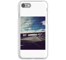 Travel the Pages iPhone Case/Skin
