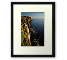 Mealt Falls & Kilt Rock, Isle of Skye Framed Print