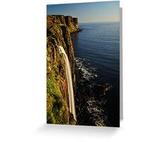 Mealt Falls & Kilt Rock, Isle of Skye Greeting Card