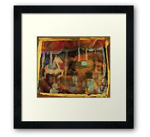 MERRY GO AROUND Framed Print