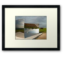 C Curve  (as is) Framed Print