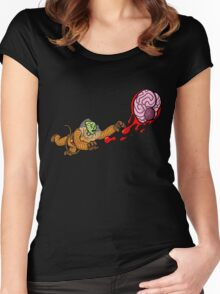 Astrozombie II: More Brains Women's Fitted Scoop T-Shirt