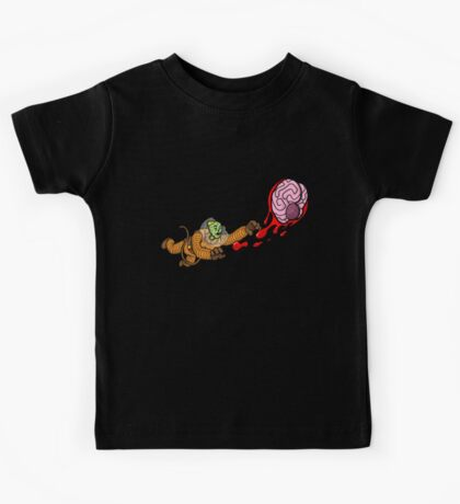 Astrozombie II: More Brains Kids Tee