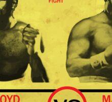 Manny Pacquiao Vs Floyd Mayweather Sticker