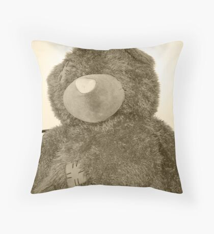 Patches. Throw Pillow