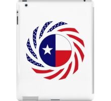 Texan Murican Patriot Flag Series iPad Case/Skin