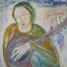 """""""Musician at Rest"""" by catherine walker"""