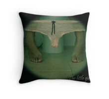 Little girl's room Throw Pillow