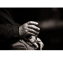 Drink in Hand Photographic Print