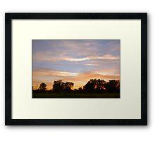 Dusky Evening... Framed Print