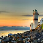 Cloch Lighthouse by sandgrouse