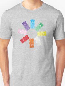 Gummy Bear Circle Unisex T-Shirt